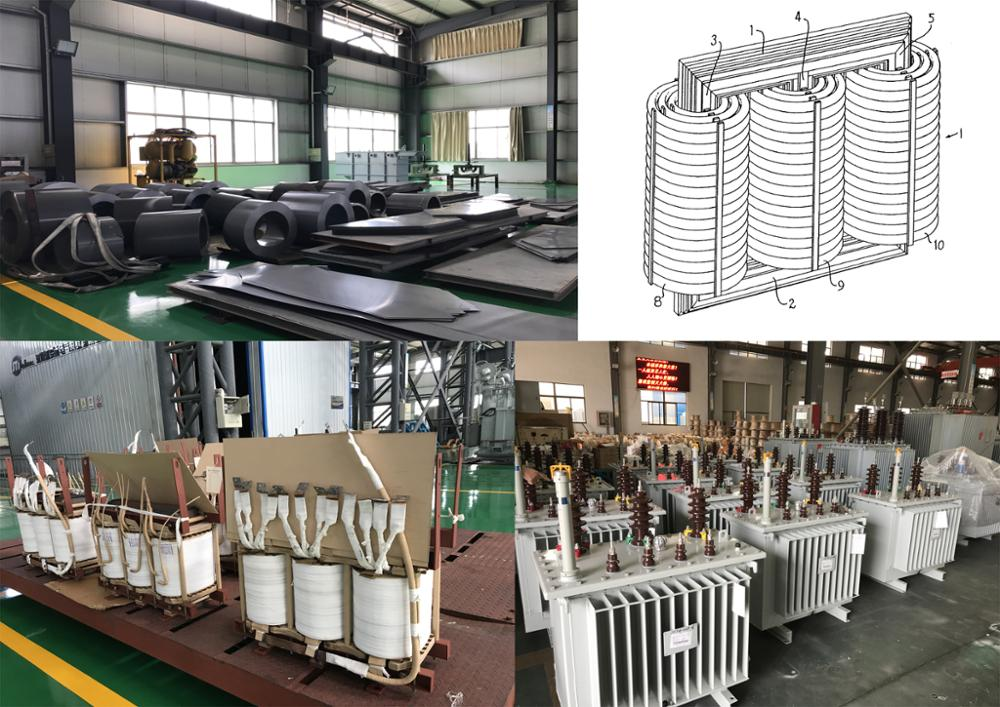 11kv 1250 kva cast resin dry type onan distribution transformer