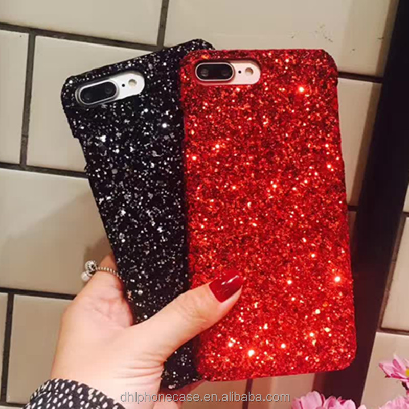 Hot selling diamond bling glitter rhinestone phone case for iphone X 6 7 8 , for Samsung galaxy S3 note7 google pixel2