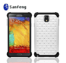 Silicine+hard phone cover for samsung galaxy note 3 N9000