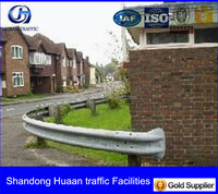 Anti rust Crash barrier for bungalow road safety used