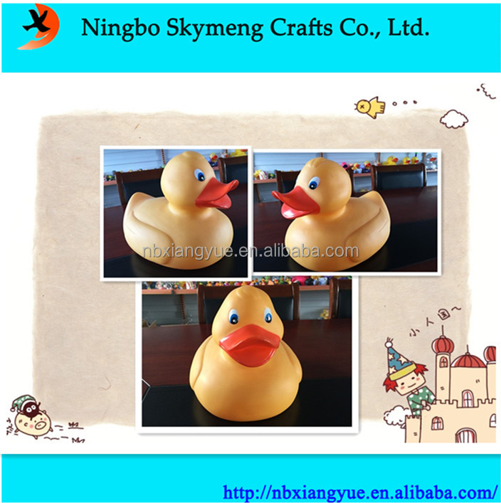 China manufacture 32CM rubber duck yellow big rubber duck