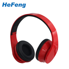 high quality custom branded foldable headphones