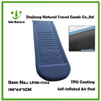 self inflate camping mat outdoors product inflating mat sleeping pad air pad PVC TPU coating made in china