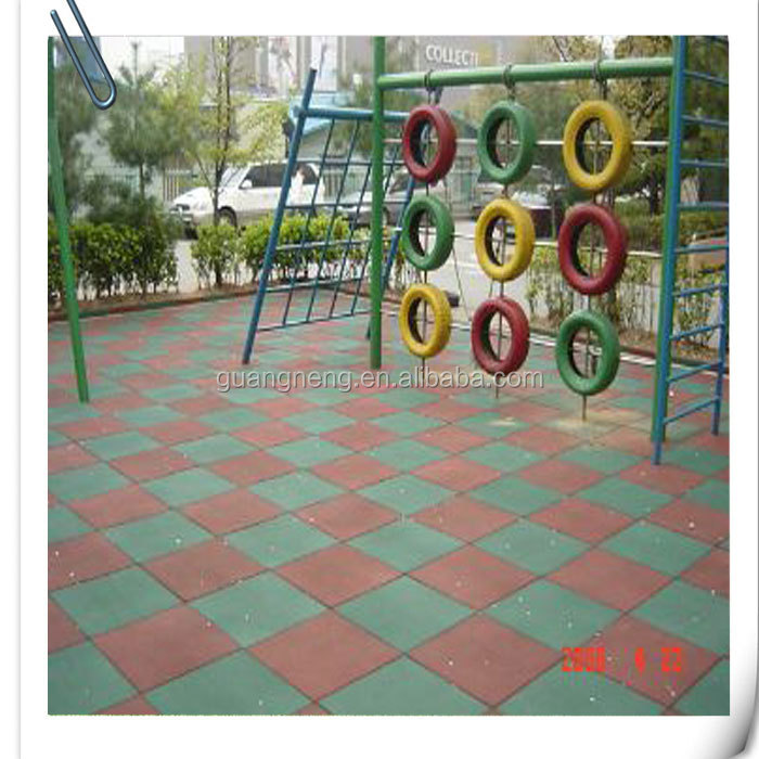 playground rubber tiles,rubber water barrier ,Gym rubber tile