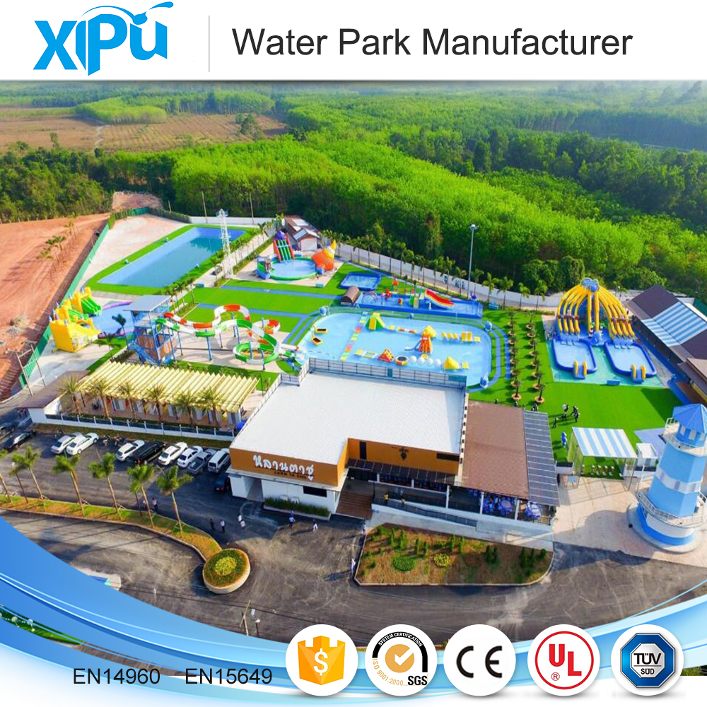 Professional mobile inflatable commercial water park design build