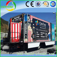 hot!! amusement park equipment truck mobile 5d cinema 7d cinema for sale