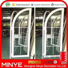 Professional design aluminum profile thermal break arched french doors lowes french doors exterior