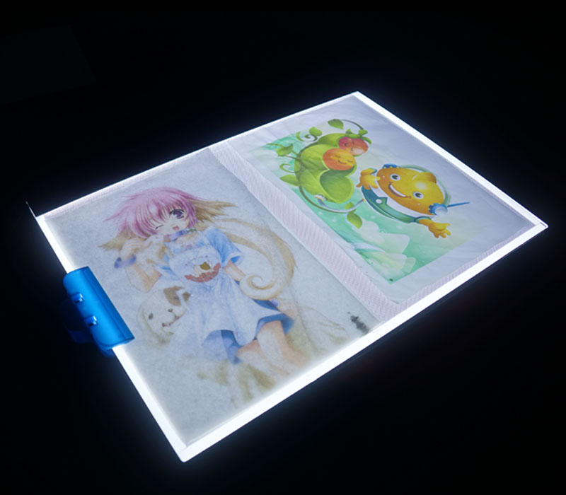 ELICE A3 LED Light Box Plate Art Tattoo Drawing Board Table Display Stencil Sketching Animation Tracing LED Light Tracer Pad