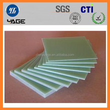 Epoxy glass prepreg for FR-4 green clad laminate