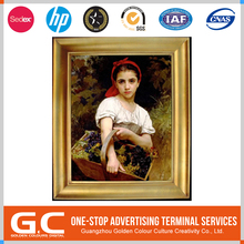 Sgs Certified Fashional Custom Design Customized Logo Printed Vintage Posters Oil Painting