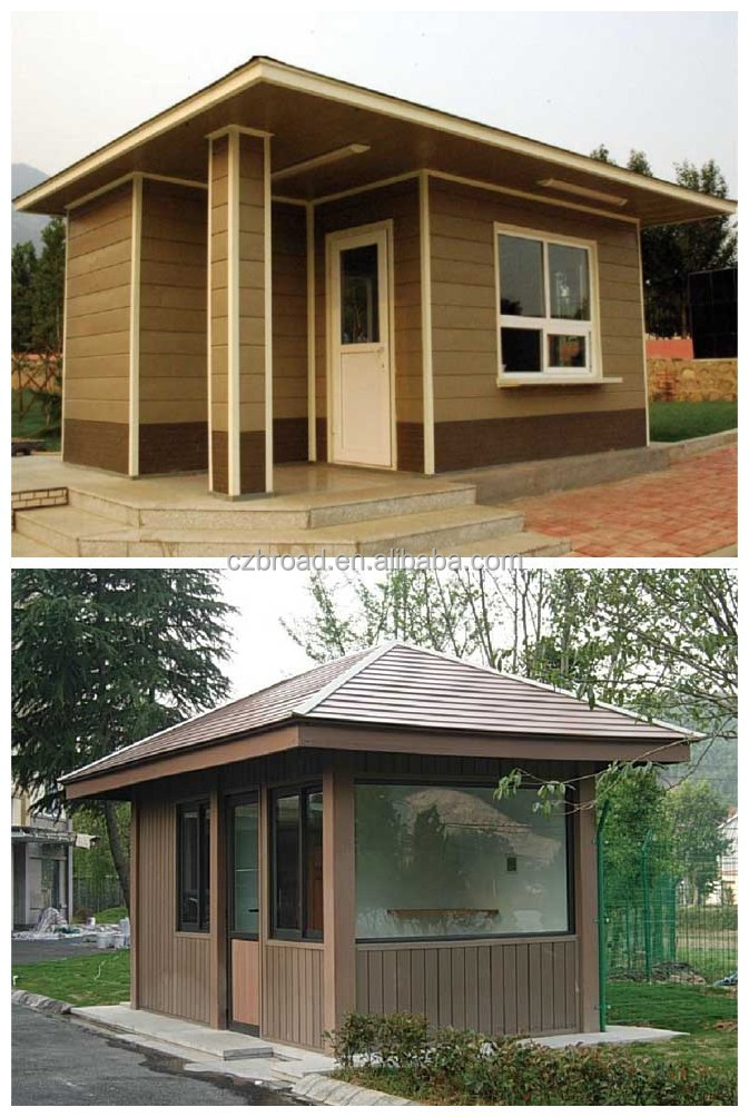waterproof wpc summerhouse wooden prefabricated houses