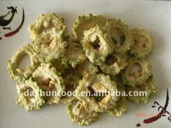 VF tempura balsam pear chips(vegetable snack)