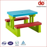2016 wholesale cheap customized hotsale plastic childrens plastic table and chairs