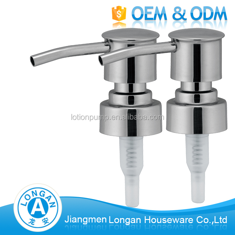 China Factory direct stainless steel 304 washing hand liquid foam pump 24/410
