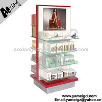 5 tiers display cabinet