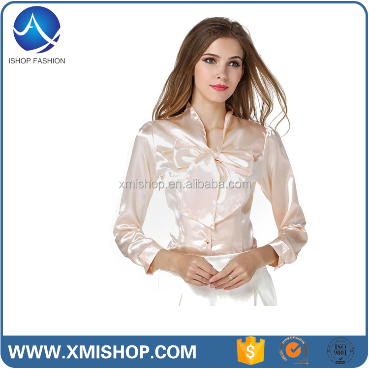 Uniform Design Casual Office Blouses for Women