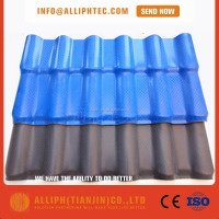 Building Materials synthetic resin Spanish Roofing Tiles For Sale