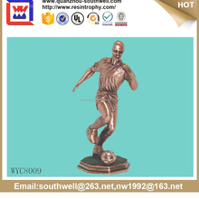 gold plating trophy basketball