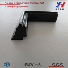 Custom shower glass door rubber seal