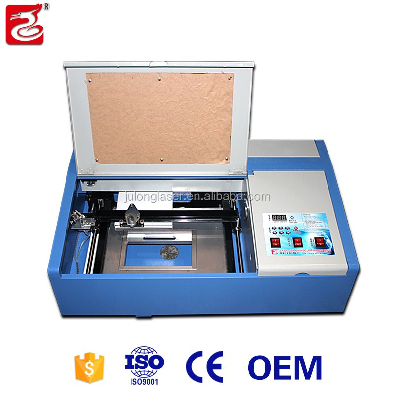 Desktop laser equipment for small business at home/ Rubber stamp Jewelry making machine