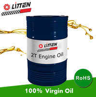 Large Capacity 200L Drum Package 2T Motorcycle Engine Oil