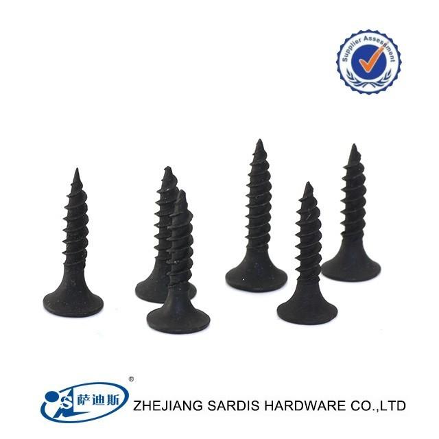Professional factory Thread fine coarse drywall screw size 3.5*25mm