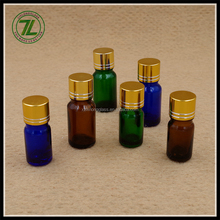 5ml 10ml small amber essential oil bottle 30ml glass dropper bottle with aluminum lids
