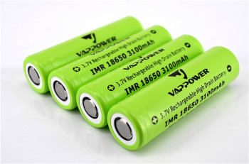 18650 3100mAh 35A Vappower High Power Battery for E-cigarettes
