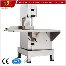 High efficiency electrical bone cutting saw for meat and bone