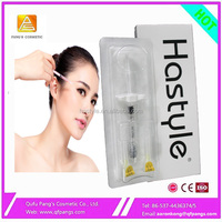 Hastyle Aaron sell 2ml Hastyle hyaluronate acid dermal fillers for eye anti-wrinkle beauty Rejuvenation