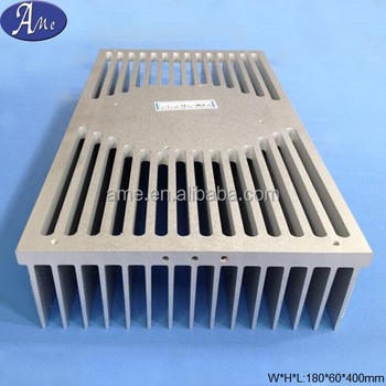 extrusion aluminum led street light cob heatsink