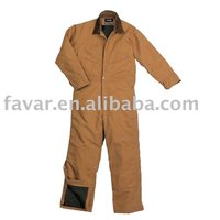 Mens Winter Insulated Workwear Coverall Uniform
