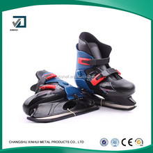 hot!!! ice skate blade retractable roller skate shoes