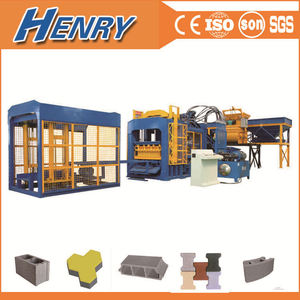 QT10-15 full automatic concrete block making machine ,cement brick making machine low investment high profit business