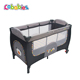 EN716 easy baby folding playpen bed baby crib with changing table