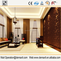 New arrival three-dimensional decoration wallpaper price 3d wall board decoration panel cover board