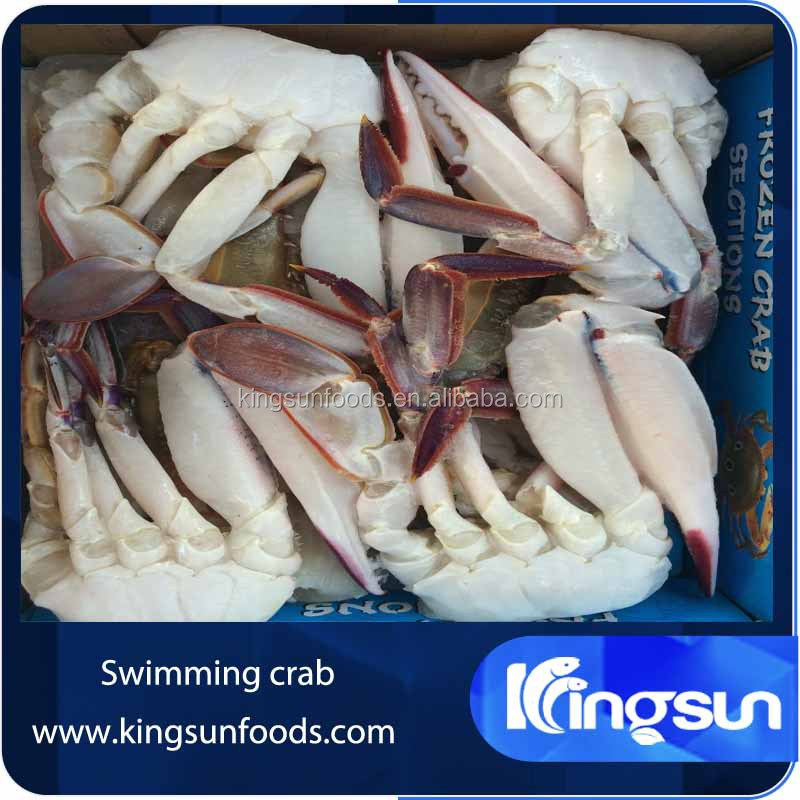 Frozen Half Cut Swimming Crab Blue Swimming Crab