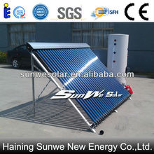 Model.S01-30-300D Heat Pipe Split Pressurized Solar Water Heater Solar Boiler Solar Thermal (SOLAR KEYMARK,SRCC certification)