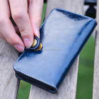 Newest design high quality PU leather mobile phone case