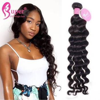 Inexpensive 100% European Virgin Silk Top Great Topper Wet And Wavy Human Hair Weave Extensions
