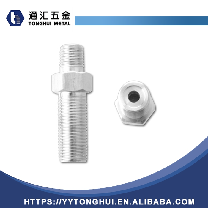 Professional manufacturer supplier threaded straight coupling bulkhead fittings brass