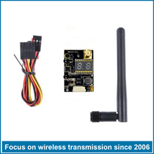 Mini long range wireless video transmitter receiver 40CH Female Domination 5.8GHZ