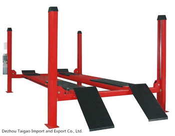 DY-I3500 Four Post Car Lift Car Workshop Equipment Car Lift Mechanical Four Post lift