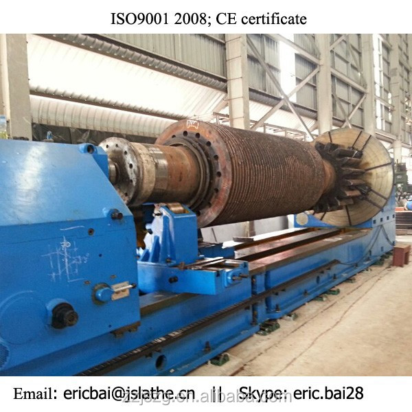 2000mm diameter extra Heavy duty horizontal Lathe Machine with lowest price