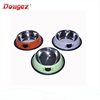 hot selling product Wholesale Supreme Stainless Steel cat Print Travel cat Food Water Bowl