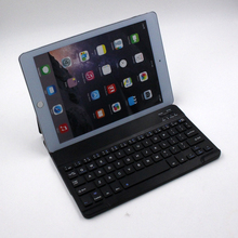 wholesale mini ABS keyboard wireless thai bluetooth keyboard with tab cover