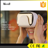 New products in china market 2016, 3d movie 3d game sex video cardboard 3d vr glasses