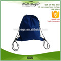 Promotional cheap waterproof drawstring bag polyester , sport gym bag