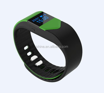popular pedometer wristbands smart bracelet , smart sports wrist band bracelet with Bluetooth 4.0,
