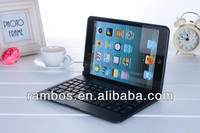 For iPad Mini Wireless Keyboard Tablet PC Aluminum Keyboard Case with Stand Cover